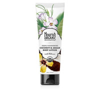 Nourish Body Lotion - Organic - Tropical Coconut - 8 Fl Oz