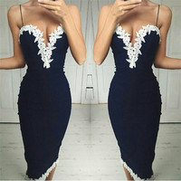 Sexy Women Summer Boho Maxi Evening Party Dress Beach Dress Sundress Mini Dress = 4904703428