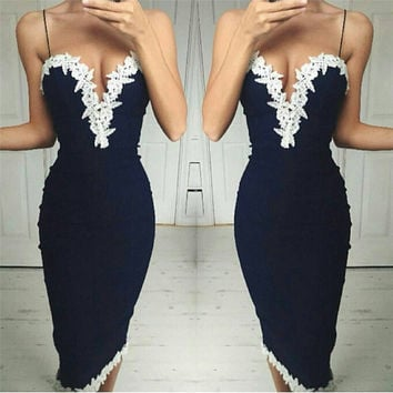 Sexy Women Summer Boho Maxi Evening Party Dress Beach Dress Sundress Mini Dress = 5988230209