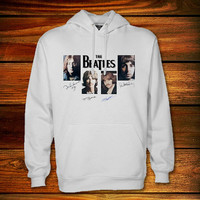 The Beatles Hoodie,The Beatles Sweater Black and White