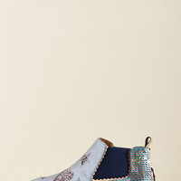 Irregular Choice Influential on the Reg Leather Bootie | Mod Retro Vintage Boots | ModCloth.com