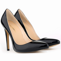 Corset Style Work Pumps