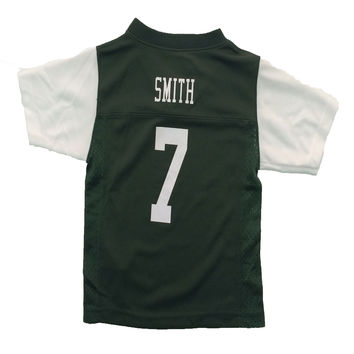 New York Jets Geno Smith NFL Team Apparel Child Replica Football Jersey