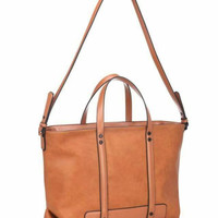 Brown Crossbody Handbag