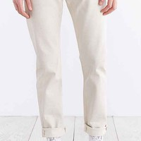 Lee 101Z-15 Dirty Lean Straight Selvedge Jean- Ivory