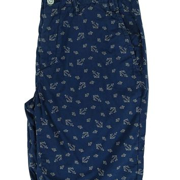 Ralph Lauren Men's Classic Fit Anchor Print Shorts