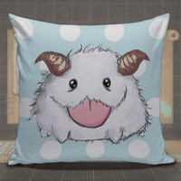 Cute Poro The Legends League Of Poro pillow case, pillow cover, cute and awesome pillow covers