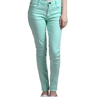 Women's Jeans Jeggings Five Pocket Stretch Denim Pants