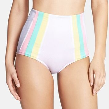 Women's Lolli Swim High Waist Bikini Bottoms