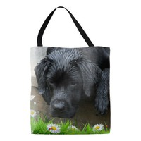 Appreciate the Little Things - Black Lab Tote Bag