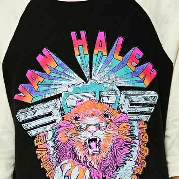 Girls Van Halen Band Tee (Kids)