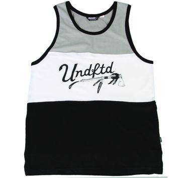 Undefeated War Paint Tank - Black