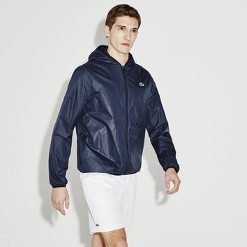 Men's Textured Light Taffeta Jacket