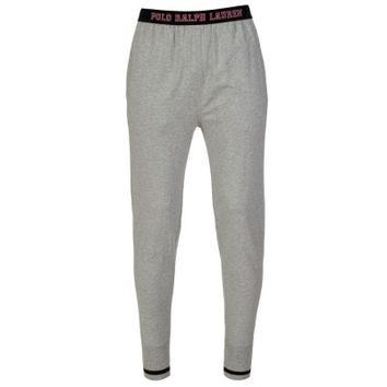 Polo Ralph Lauren Light Grey Logo Waistband Lounge Pants
