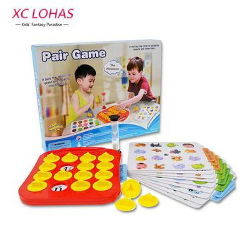Children Memory Matching Game Pairs Game Educational Toys Baby Brain Training Montessori Interactive Desk Toys Christmas Gifts