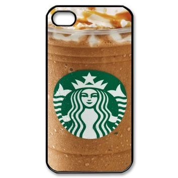 Goopuer Design Starbucks Caramel Mocha Iphone 4/4s Iphone Cases Cover