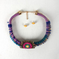 Tied Together Collar Necklace
