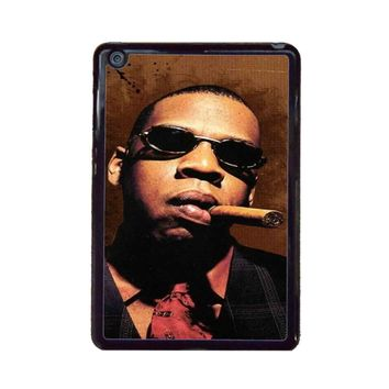 Jay-Z Cigar Glasses Tie Vest 01  iPad Mini Case