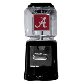 Alabama Crimson Tide Black Gumball/Candy Machine