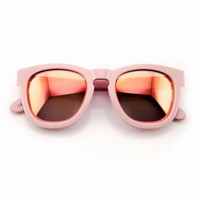 CLASSIC FOX MIRROR FRAME at Wildfox Couture in  BLACK FRAME, MATTE BLACK FRAME, CREAM FRAME, PINK FRAME, TORTOISE FRAME, PCRSL, RCRSL
