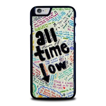 all time low colour iphone 6 6s case cover  number 1