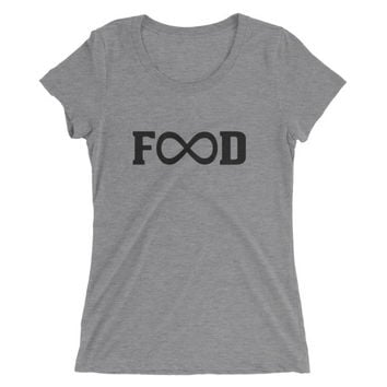 Unlimited Food Tri-Blend Athletic T-shirt