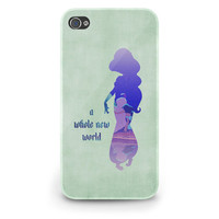 Jasmine Quote Aladdin Disney - Hard Cover Case iPhone 5 4 4S 3 3GS HTC Samsung Galaxy Motorola Droid Blackberry LG Sony Xperia & more