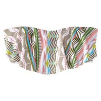 Mossimo® Women's Hanky Swim Top -Geometric Print