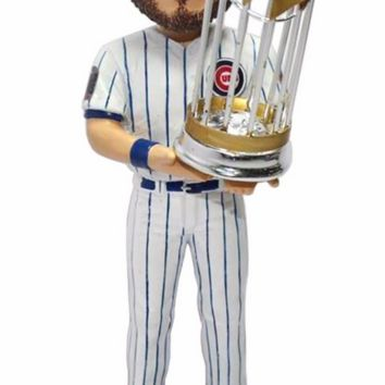 2016 World Series Champions Chicago Cubs Jake Arrieta Bobblehead By Forever Collectibles