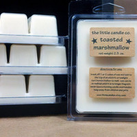 Soy Wax Melt: Toasted Marshmallow Scented Soy Wax Tart