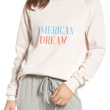 The Laundry Room American Dream Cozy Lounge Sweatshirt | Nordstrom