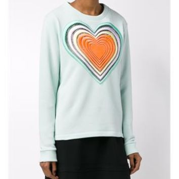 CHRISTOPHER KANE   Heart Sweatshirt   brownsfashion.com   The Finest Edit of Luxury Fashion   Clothes, Shoes, Bags and Accessories for Men & Women