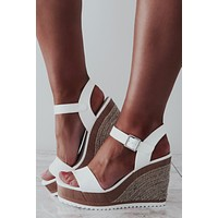 She's All That Wedges: White