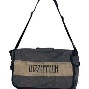 Led Zeppelin Distressed Messenger Bag