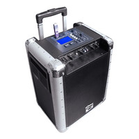 Pyle Battery Powered Portable PA System With USB-SD, DJ Controls, And Aux Inputs