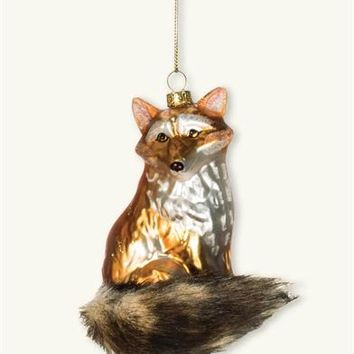 Vixen Ornament - Glass Fox Ornament
