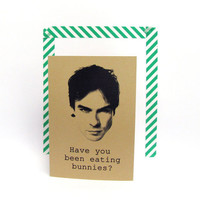 Damon Salvatore notebook Ian Somerhalder by invisiblecrown on Etsy