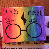 """Harry Potter Painting: """"It's Real For Us"""""""