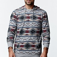 On The Byas Theo Hooded Shirt - Mens Shirt - Gray