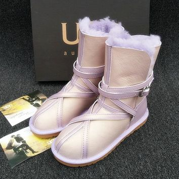 UGG Fashion Winter Women Flat Warm Snow Ankle Boots One-nice™
