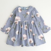 Juliette Long Sleeve Floral Dress