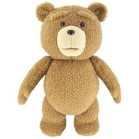 "Ted 24"" Plush with Sound, 12 Phrases"