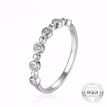 Sterling Silver Tiny Bubbles Ring