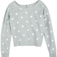 Zip Dots Sweatshirt