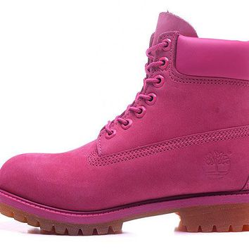 Timberland Rhubarb Boots roseo 2018 Waterproof Martin Boots