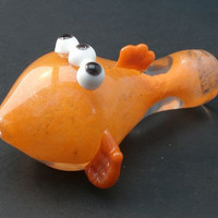 Blinky the Three-Eyed Mutant Fish Glass Pipe
