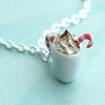 Peppermint Mocha Necklace