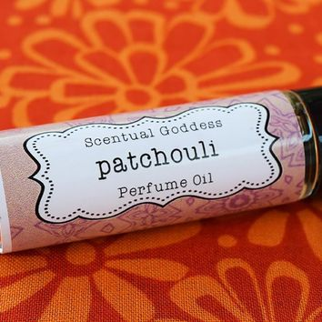 PATCHOULI Perfume Oil - 60's Hippie Patchouly Earthy Unisex Cologne Oil