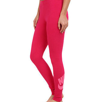 Nike Pro Leg-A-See JDI Print Tight Leggings Fuchsia Pink [S] Small 615049-691