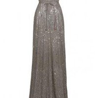 Strapless Sequin Gown - Dresses - Clothing - Womens